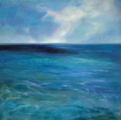 Ocean & Sky Jean Howard   Blue Ocean   Pinterest   Best Art ...