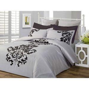 Black Damask Bedding Damask Silver Black Scroll Comforter