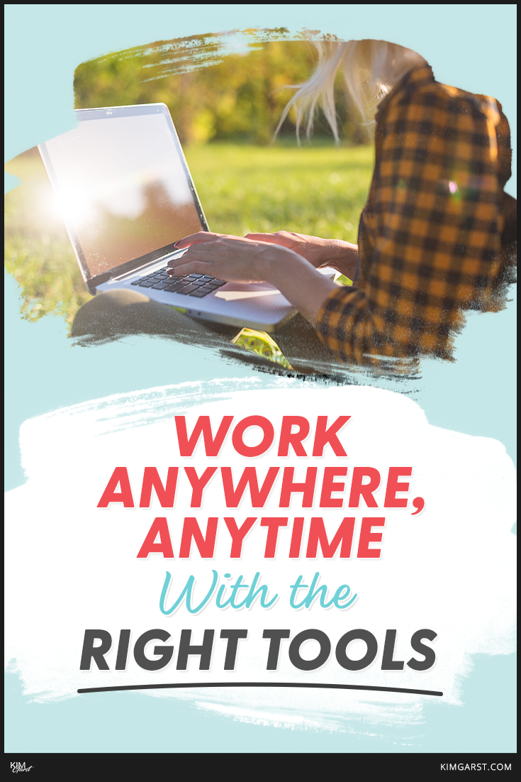 productivity tools lets you work anywhere and anytime