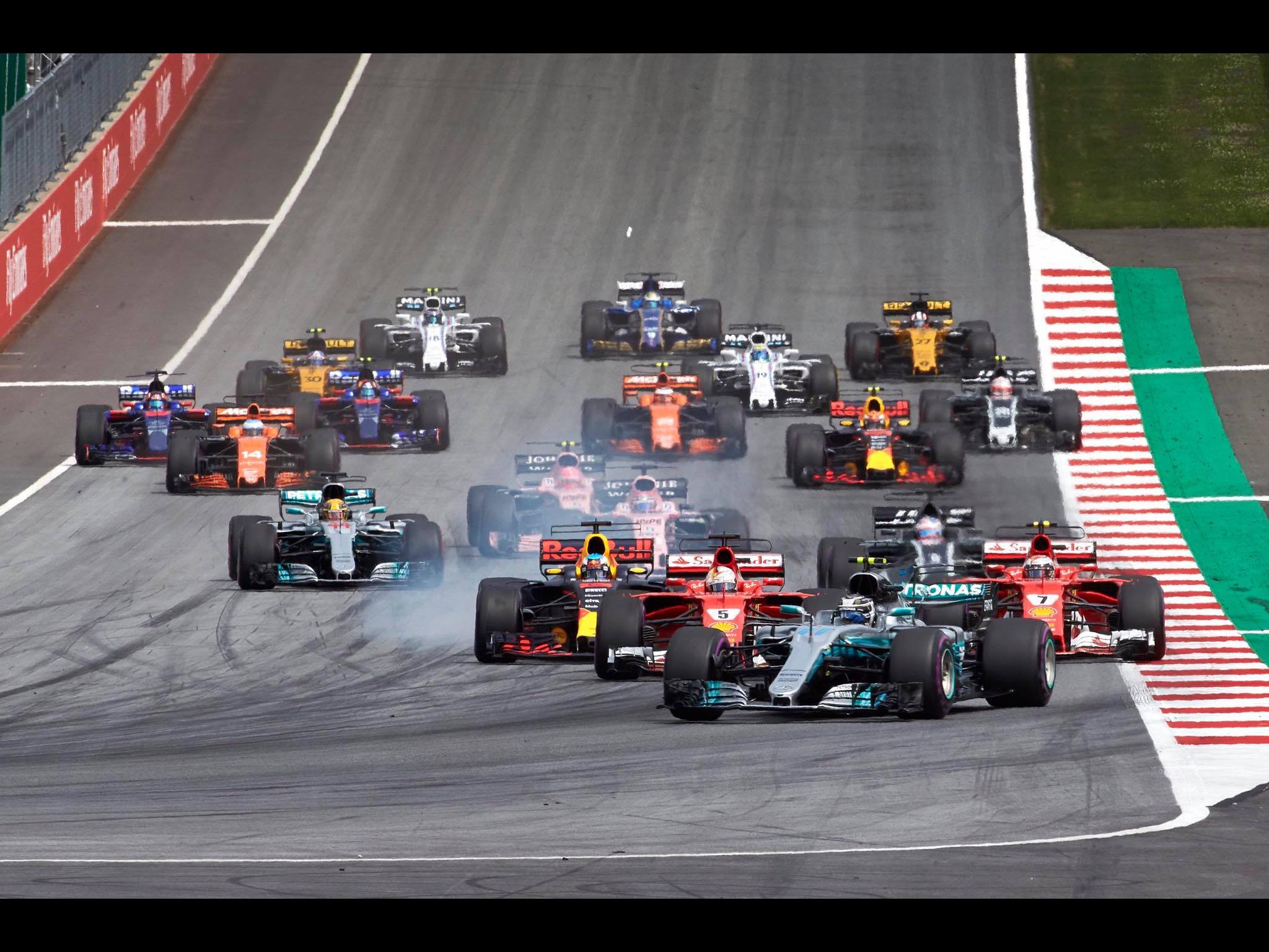 GP F1 Austria 9th of July 2017.