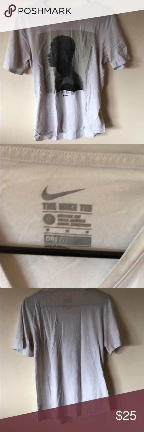 79373dbd1 Nike men's lebron james always believe t shirt Little worn dri fit Nike  Shirts Tees - Short Sleeve