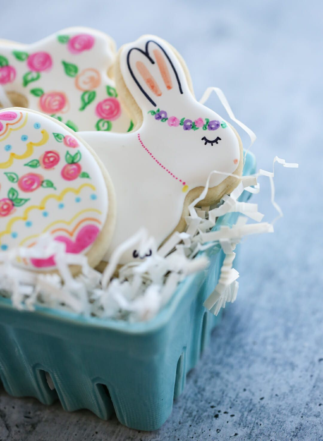 09be180bbc441 Easy Hand-Painted Easter Cookies | spring/easter | Easter cookies ...