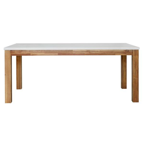 You Ll Love The Macarthur Dining Table At Wayfair Great Deals On All Furniture Produc Concrete Dining Table Rustic Dining Furniture Dining Furniture Makeover