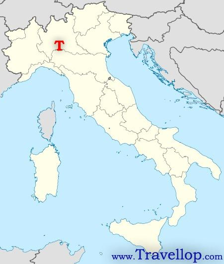 Crema Map, Lombardy, Italy   Travel Tips | Italy | Italy map