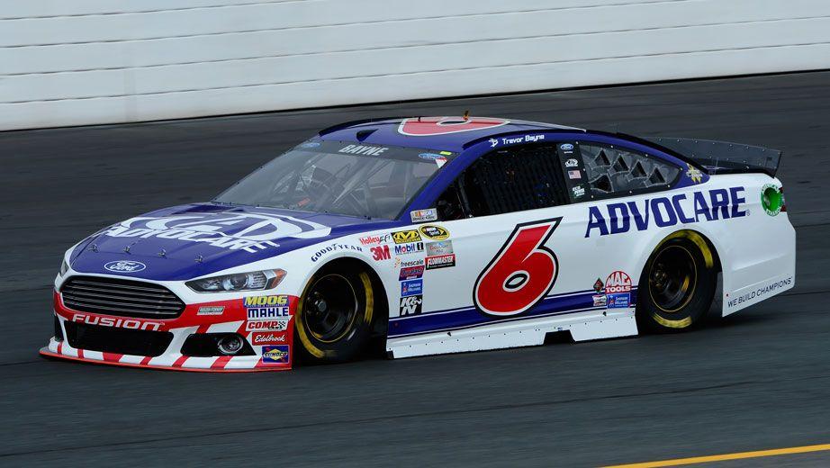 Trevor Bayne will start 33rd in the No. 6 Roush Fenway Racing Ford    --  Sylvania 300 starting lineup   NASCAR.com 9/28/15