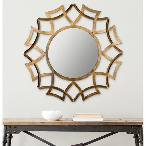 Liliana Gold Iron  Glass Mirror in 2018 Home Decor Pinterest
