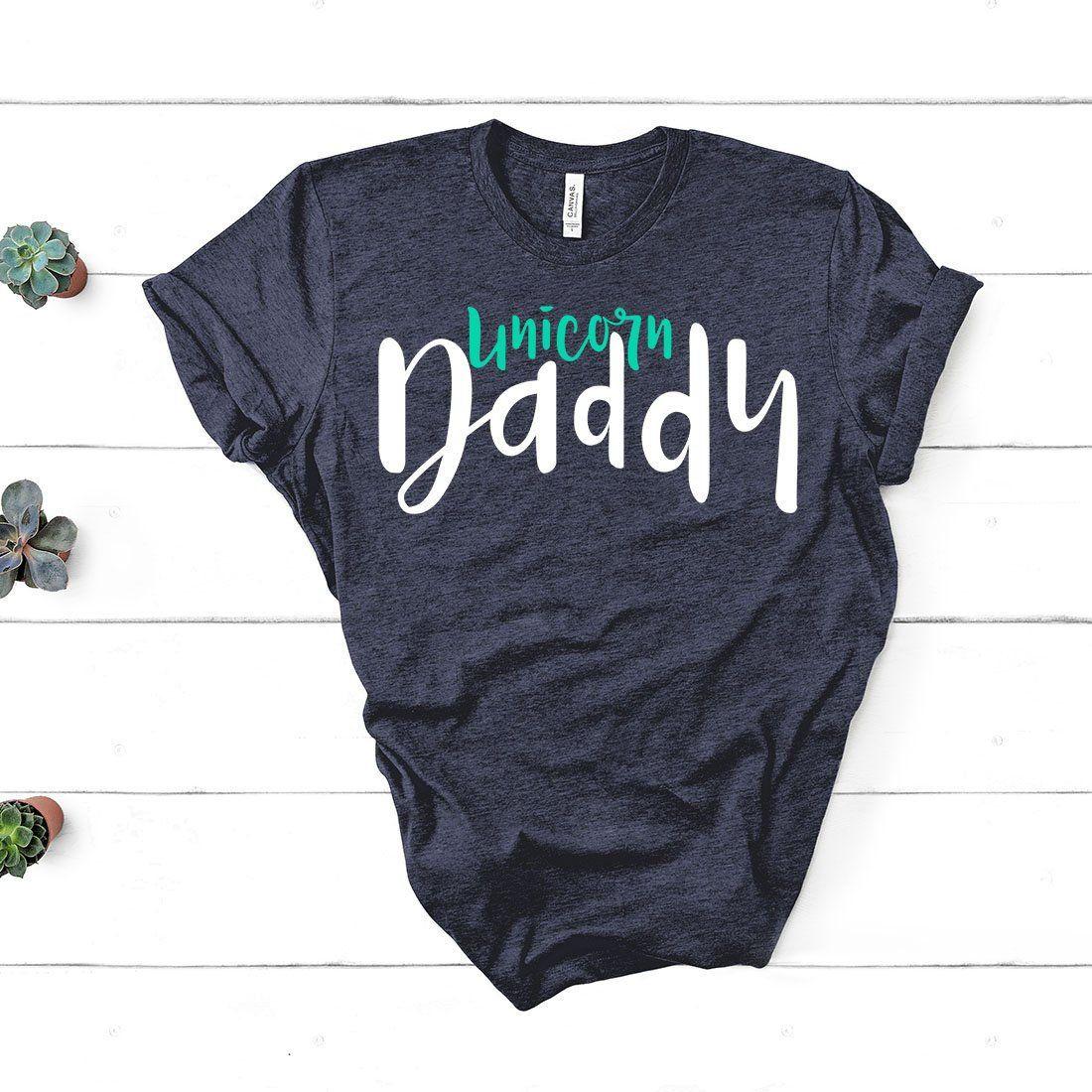 fc7b7b0b0 Unicorn Daddy Shirt - Unicorn Shirt - Unicorn Gift - Unicorn Party - Unicorn  Lovers - Funny New Dad - Father's Day - Unisex Graphic Tee