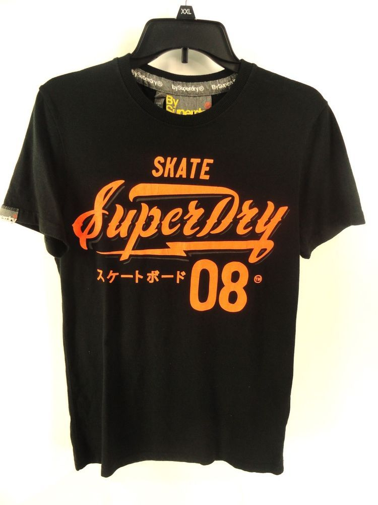 5911c7b3 SUPERDRY $38 NEW MENS BLACK SKATE SPEED FREAKS ENTRY GRAPHIC T-SHIRT sz S # Superdry #GraphicTee