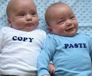 Tshirt for twins lol