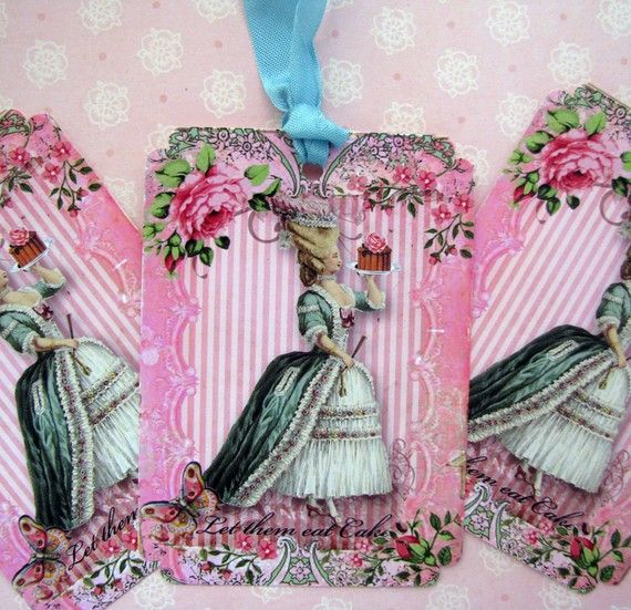 Crafty Marie Antoinette cards