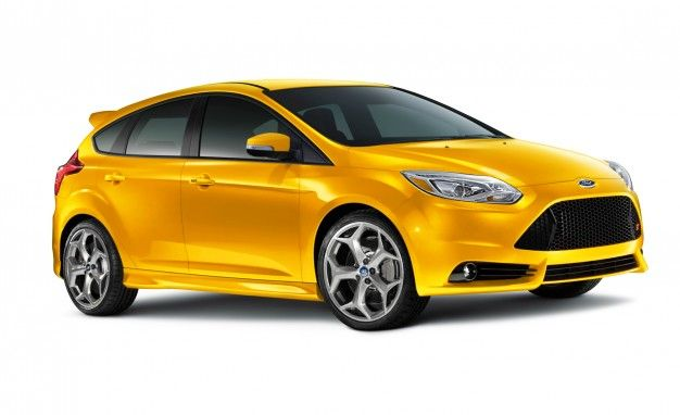 Ford Focus St Hatchback Yellow Ford Focus St Ford Focus