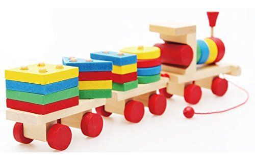 Baby Kids Educational Puzzle Montessori Early Learning Wooden Geometry Wool DIY