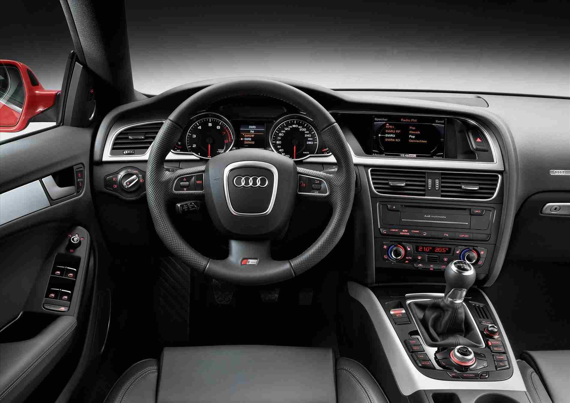 audi a5 interior 2010. Black Bedroom Furniture Sets. Home Design Ideas