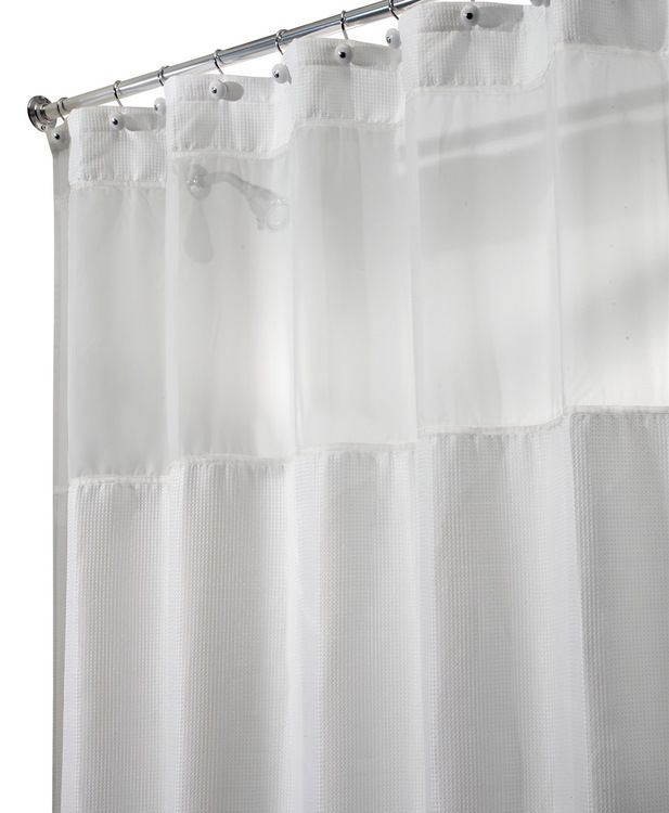 Product Carlton View Extra Long Size Fabric Shower Curtain 96