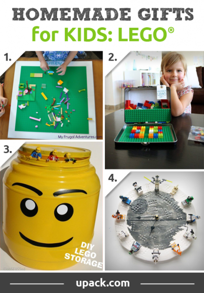 Four Great Presents For Any Lego Lover Homemade Gifts For