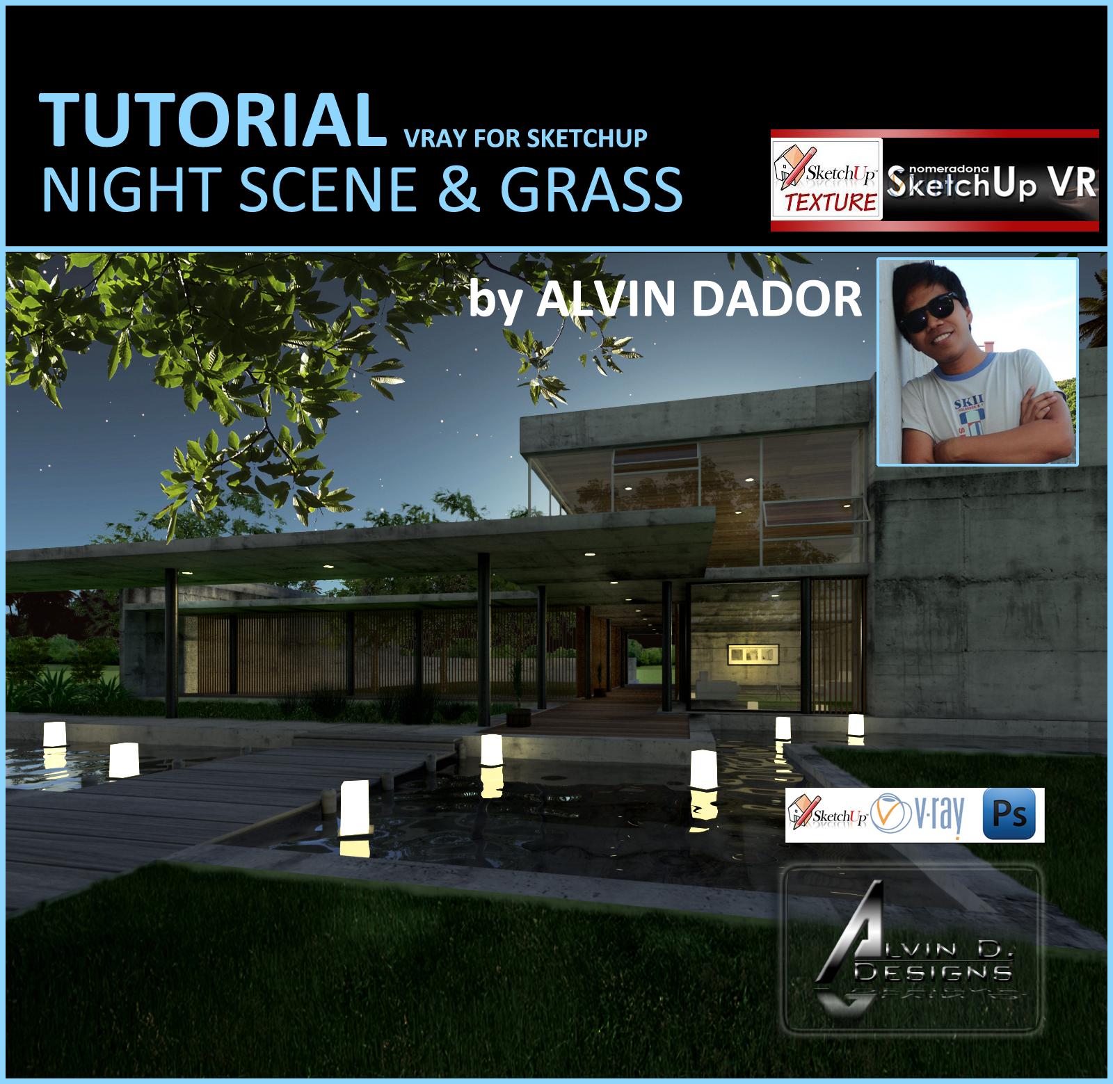 Vray Tutorial Exterior Night Scene | скетч апп | Pinterest | Scene And  Tutorials