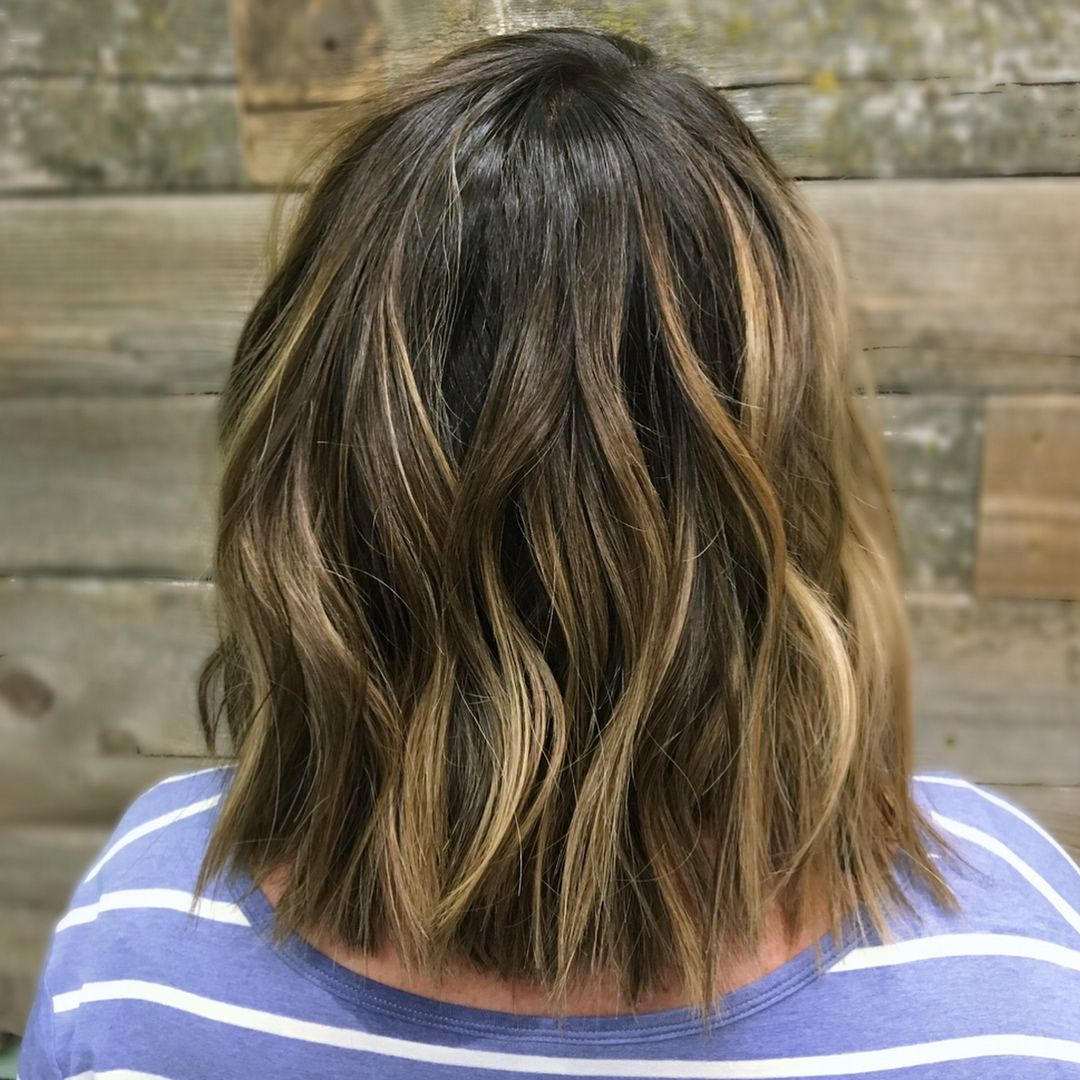 Short Hair Balayage Balayage On Short Hair Natural Balayage