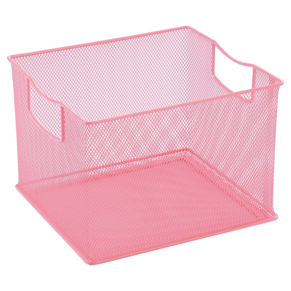 11 X 13 X 14 Wire Decorative Toy Storage Bin Pink Pillowfort With Images Toy Storage Bins Storage Bins Toy Storage