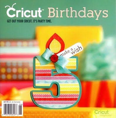 Cute Birthday Card Cricut Sissix Tips Tricks Tutorials