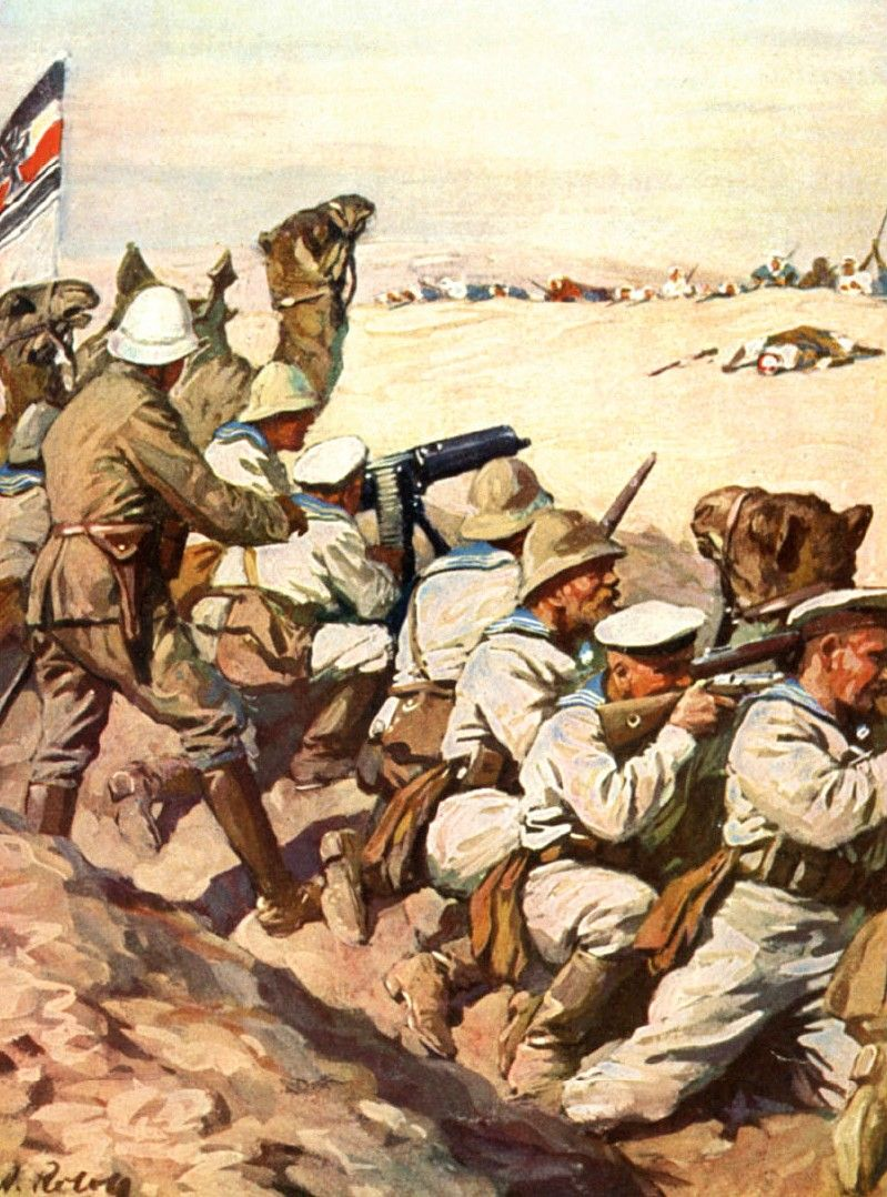 WW1 GERMANS IN AFRICA | The Great World War to End All Wars | German