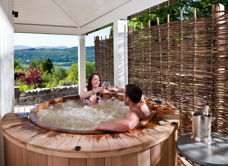 Luxury Hotels In The Lake District Linthwaite House Windermere Hotel Breaks Jacuzzi Outdoor Hot Tub