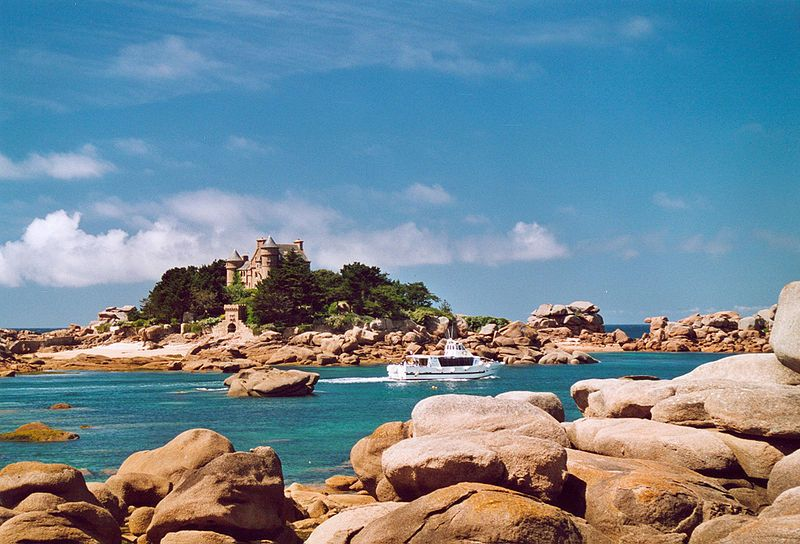 Pink Granite Coast Morlaix Bay Brittany France Best Vacation Destinations Best Vacations Vacation