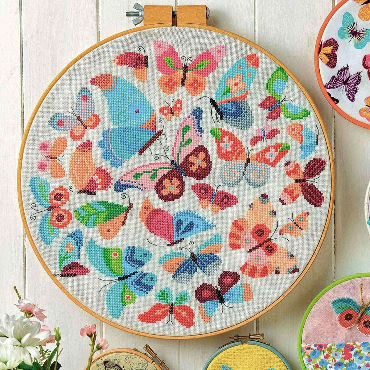 """""""Kaleidoscope of Colors"""" is a project for CrossStitcher Magazine issue 315 - March 217."""