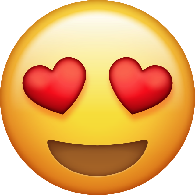 Download Heart Eyes Emoji | cool T's | Pinterest | Emoji ...