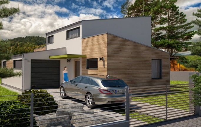 Návrh rodinného domu Borovica od APEX ARCH s.r.o.