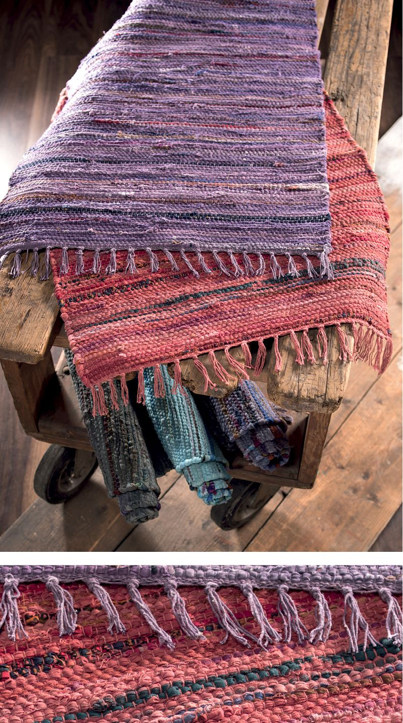 We Love Our Recycled Overdyed Cotton Rag Rugs Available In 6 Differnt Colours And 2 Sizes Hand Made In India And Fairly Traded By Cotton Rag Rug Rag Rug Rugs