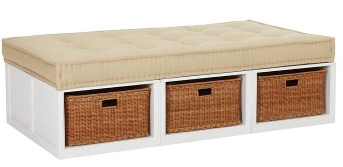 Bench Baskets X Furniture Daybed With Storage