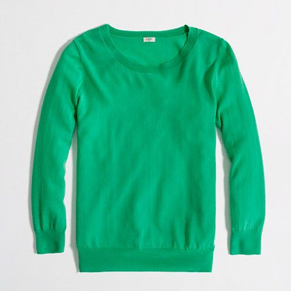 Factory merino classic crewneck pullover: I need some color in my ...