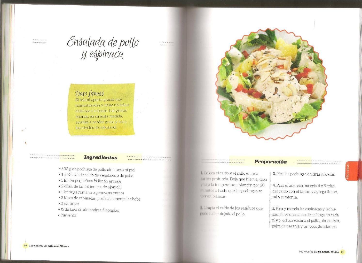 Las Recetas De Sascha Fitness Sascha Fitness Recetas Cocina Saludable Recetas Recetas Fitness