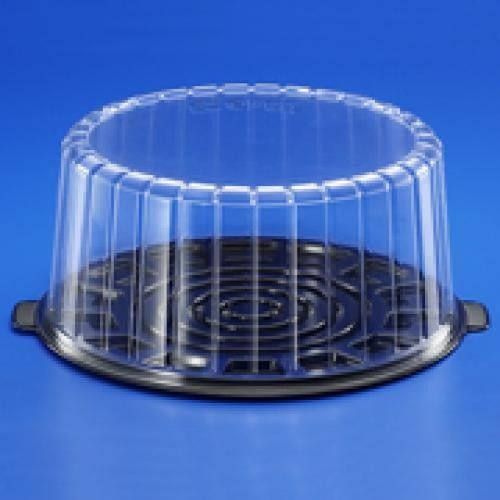 10 Cake Container Medium Dome 10 Pieces Double Layer Cake Single Layer Cakes Steel Restaurant
