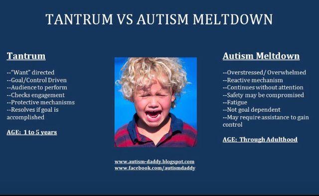 Meltdowns | Autism meltdowns, Aspergers, Meltdowns