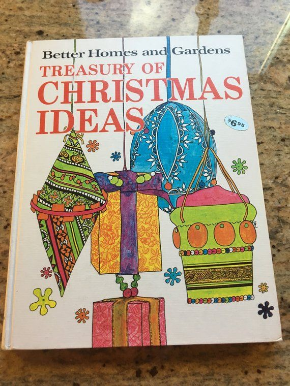 Christmas Book Ideas 2019 BHG Christmas Ideas Book 1966 in 2019 | Products | Books