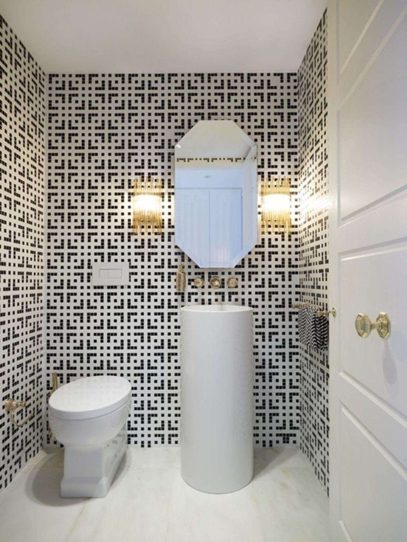 Bathroom tile pattern ideas. | Wish List: House | Pinterest | Tile ...