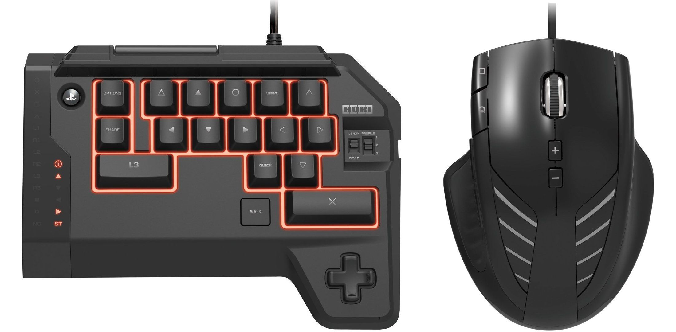 PS4 Set to Get Official Mouse and Keyboard by Hori | PS4