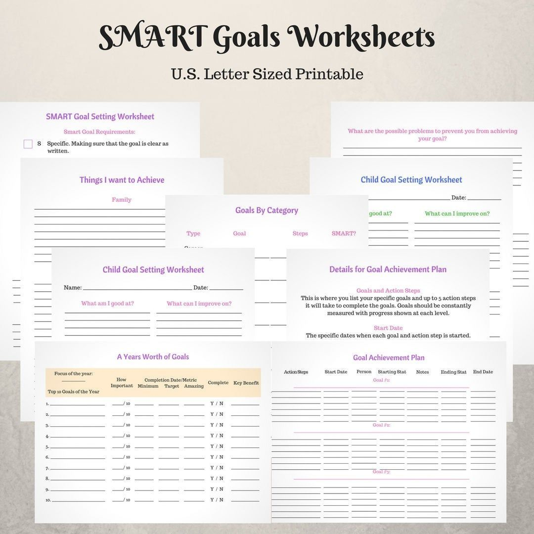 Pin On Goal Setting For Kids
