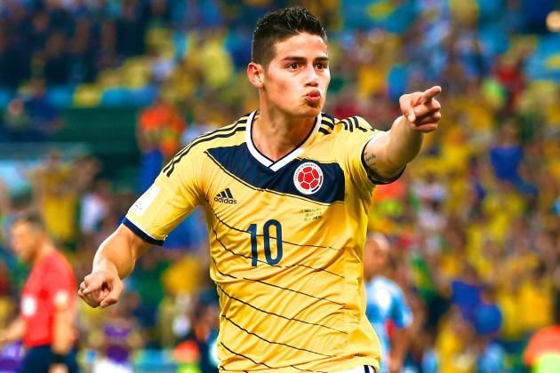 James Rodriguez Wins Golden Boot At 2014 World Cup James Rodriguez James Rodriguez Colombia Sports