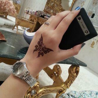 رمزيآت من لستتي متجدد الصفحة 18 Mehndi Designs Henna Hand Tattoo Tattoos