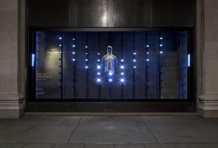 0cf478b5af17 Nike kinetic windows at Selfridges by ...
