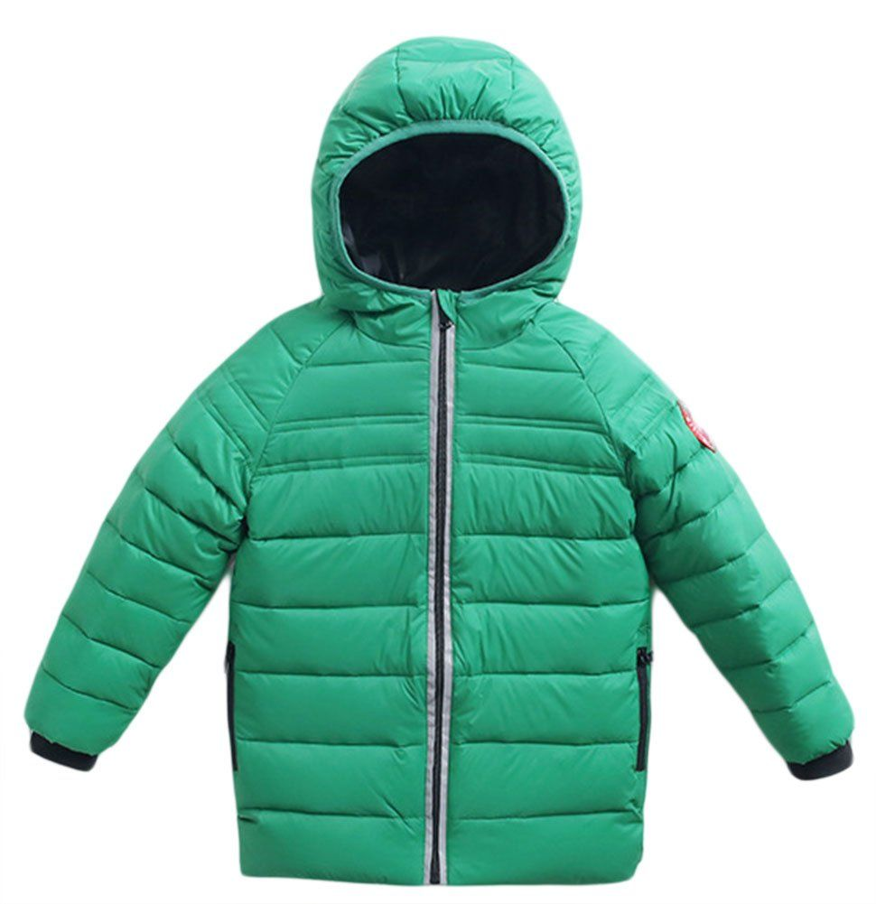 90cadd9729a3 Roffatide Kids Quilted Packable Down Coat Lightweight Windproof ...