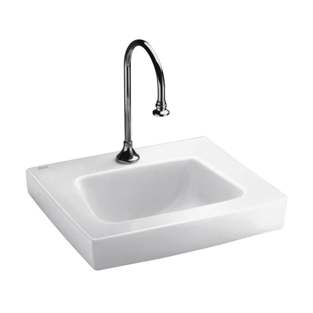 American Standard Roxalyn Wall Mount Bathroom Sink In