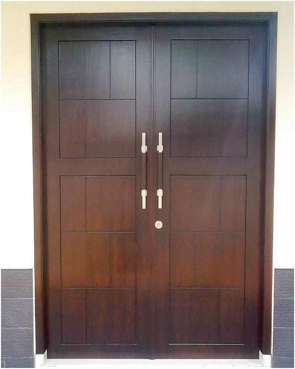 Model Pintu Kupu Tarung Dan Pintu Rumah 2 Pintu Terbaru Rumah Minimalis Desain Minimalis