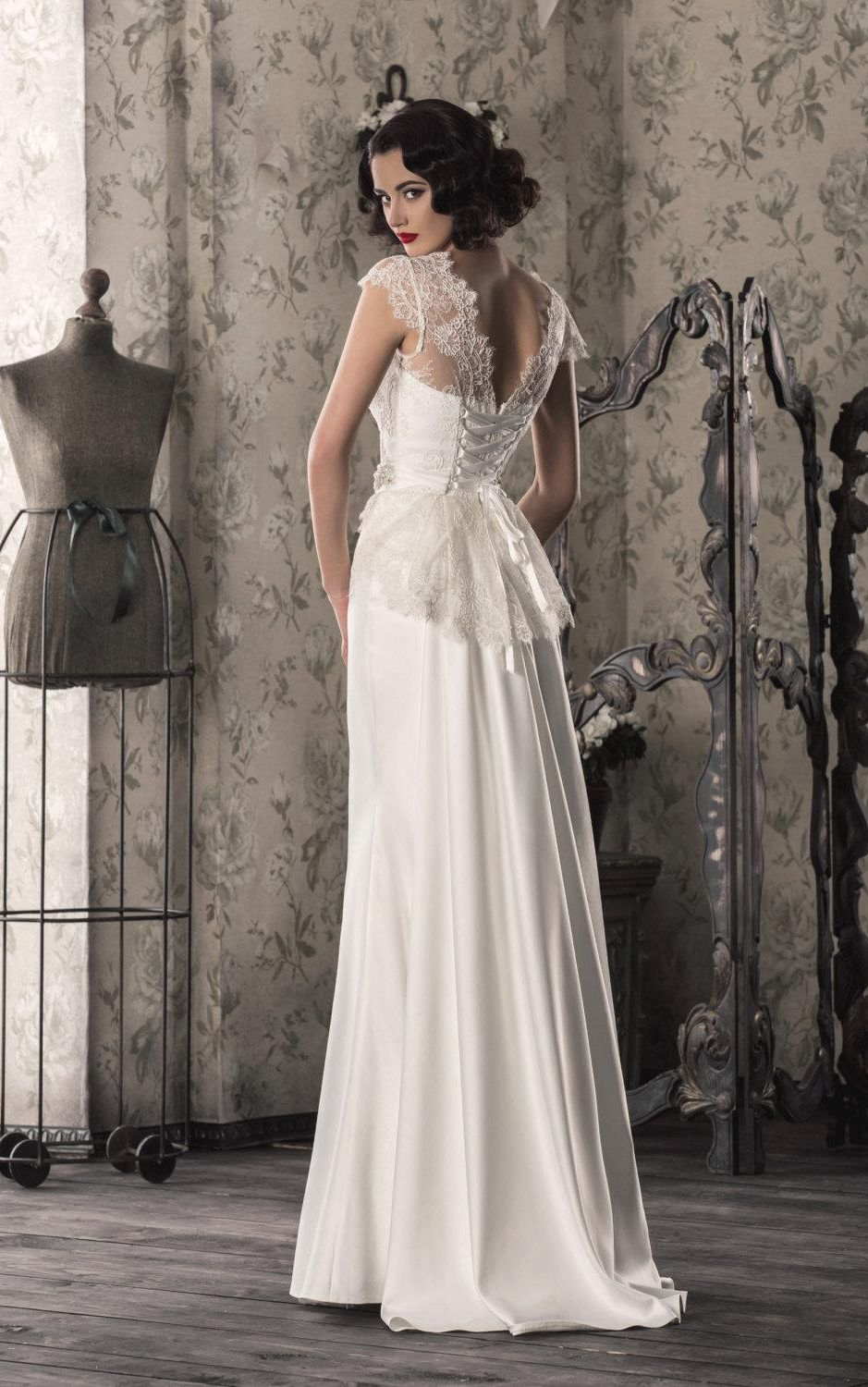Pin by june bridals on june bridals backless wedding dresses shop affordable lace satin weddig dress with illusion lace up back at june bridals over 8000 chic wedding bridesmaid prom dresses more are on hot sale ombrellifo Images