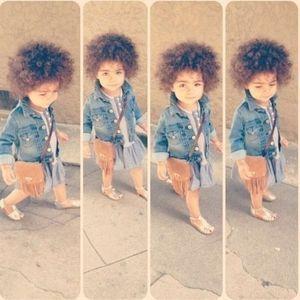 メチャクチャ可愛い 海外おしゃれキッズ フォト集 Naver まとめ Cute Black Babies Little Girl Fashion Kids Fashion