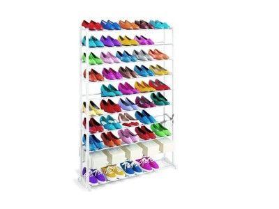 Metalowy Regal Szafka Polka Na Buty 40 Par 140 Cm 6745534636 Oficjalne Archiwum Allegro Shoe Rack Shoes Stuff To Buy