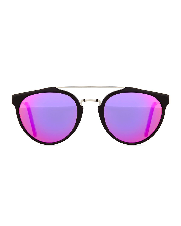 Giaguaro+Cove+Mirror+Sunglasses+by+Super+by+Retrosuperfuture+at+Neiman+Marcus.