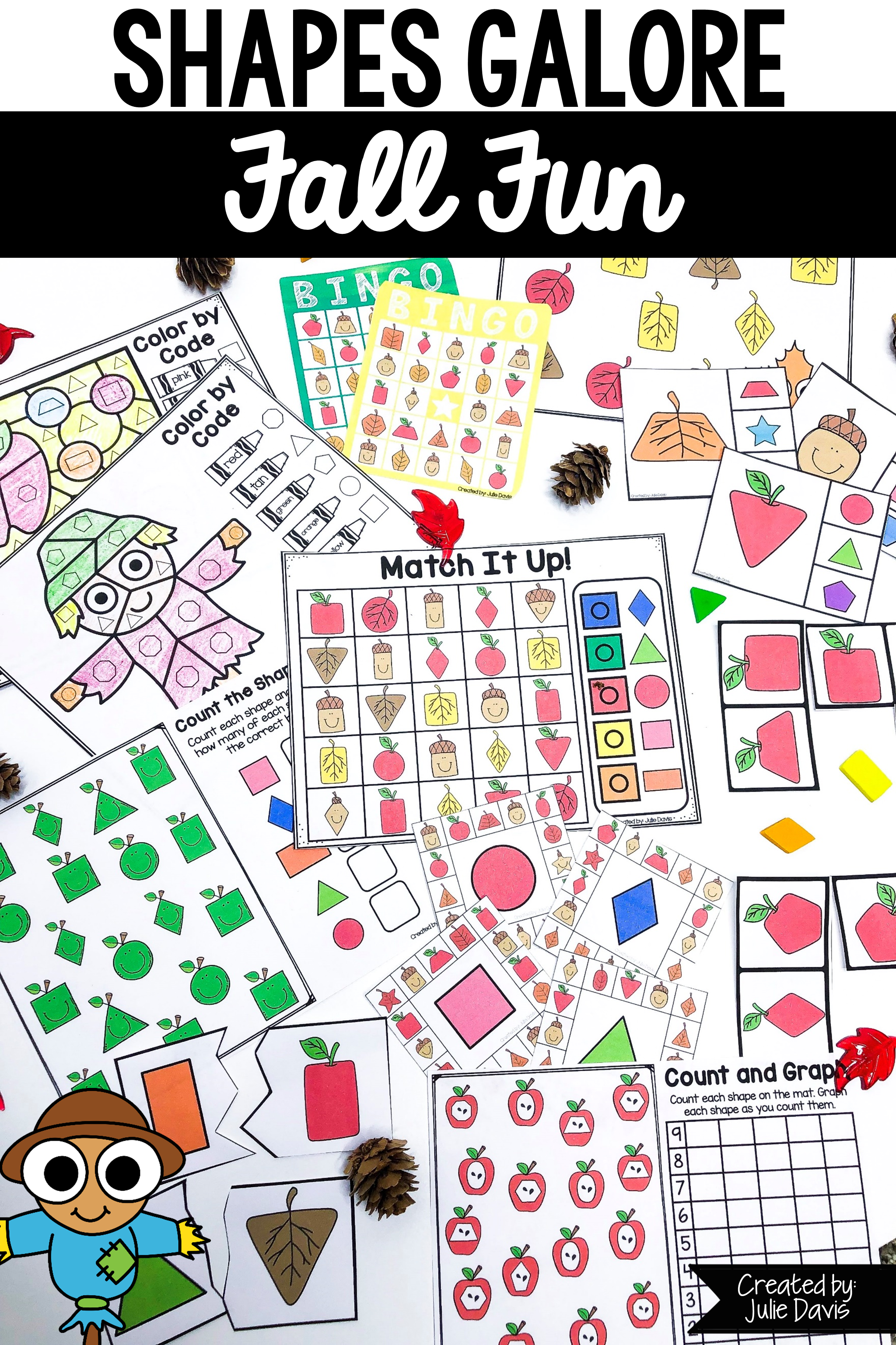 Fall 2d Shapes Games And Activities